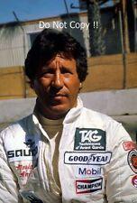 Mario Andretti Williams F1 Portrait 1982 Photograph