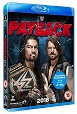 WWE Payback 2016 Blu-ray 5030697033338 Triple H Dean Ambrose Roman Reigns