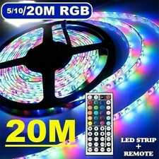 20Mtotal 4 spools RGBLED LightStrip 3528 SMD Flexible Color Changing LightString