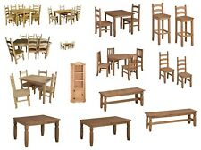 Corona Dining Tables Chairs Sets Solid Mexican Kitchen Pine by Mercers Furniture