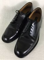 Bostonian Luxe Men's Black Leather Oxford Lace Up Shoes 25400 Sz 10.5N Narrow