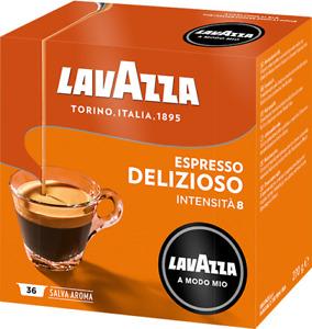 108 Kaffee kapseln Lavazza a modo mio DELIZIOSO espresso