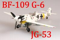 Easy Model 1/72 Germany BF-109 G-6 I. /JG53 1945 Hungary#37259