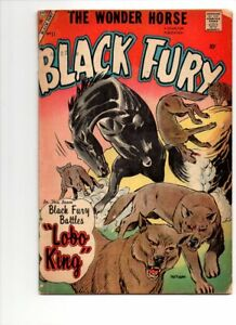 BLACK FURY #11   1957