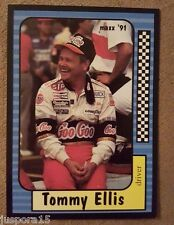 Maxx Collection Race Cards 1991 Tommy Ellis (Card #153 of 240)