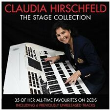 Claudia Hirschfeld The Stage Collection 2 CD Piano Keyboard