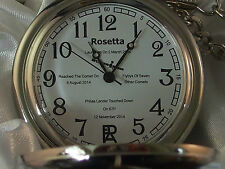 memorabilia Rosetta 67p Philae Lander Limited edition pocket watch only 100 made