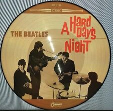 THE BEATLES, A HARD DAY'S NIGHT 180 GRAM PICTURE DISC VINYL LP NEW EU IMPORT