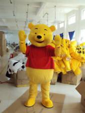 Brand New Adult Cartoon Mascot Costume Winnie the Pooh Bear Fancy Dress