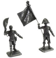 "Firefighter Figurine Navy Fireman Marseilles France 1982 Metal 1//32 2.75/"""