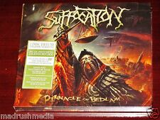 Suffocation: Pinnacle Of Bedlam - Deluxe Edition CD DVD Set 2013 NB Digipak NEW