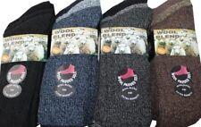 Mens Wool Blend Socks 12 Pairs 6-11 UK