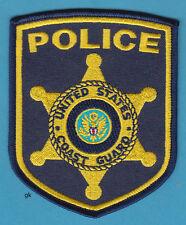 USCG  US COAST GUARD POLICE SHOULDER PATCH
