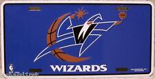 NBA Aluminum License Plate Washington Wizards NEW