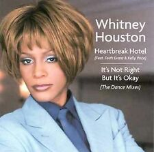 WHITNEY HOUSTON Heartbreak Hotel [Maxi Single] CD