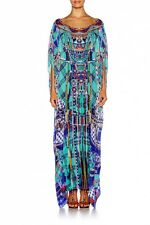 Camilla Franks DIVINITY DANCE ROUND NECK KAFTAN dress
