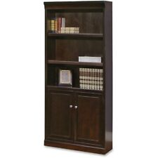 Martin Fulton Bookcase with Lower Doors - Finish: Espresso Cherry