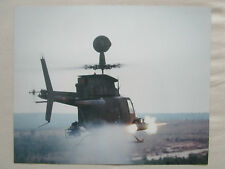 PHOTO PRESSE MCDONNELL DOUGLAS BELL OH-58D MAST MOUNTED SIGHT US ARMY HELICOPTER