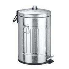 Edelstahl Treteimer 12 L mit Absenkautomatik Mülleimer Abfalleimer Müllsammler