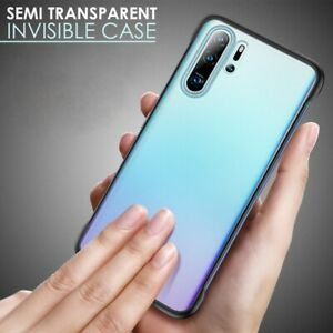 Thinnest Bumper Case For Huawei P30, P30 Pro Lite Cover Shockproof Silicone