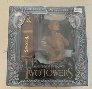 the Lord of the Rings: Two Towers (2003, Aust) Collector Gift Set NEW+SEALED