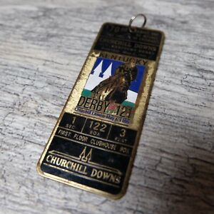 1994 Kentucky Derby Churchill Downs Metal Rusted Key Chain