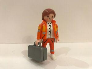 Playmobil 5285 Serie 4 Ärztin Notärztin Sammelfigur Mädchen