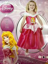 Aurora Princesa Disney La Bella Durmiente Niñas Niños Disfraz elaborado Bardot Vestido