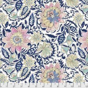 Lotus by Dena Design - #125PWDF198BLUEX quilting sewing