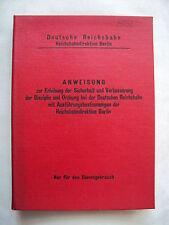 Deutsche Reichsbahn - Anweisung - Weisung - 1971 - DDR