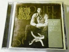Lionel Richie ‎– Truly: The Love Songs - CD Album - Motown - 1997 - 19 tracks