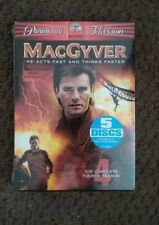 MacGyver - The Complete Fourth Season (Dvd) Factory Sealed!