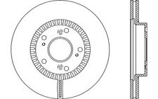 2x OPEN PARTS Discos de freno delanteros Ventilado Para HONDA CR-V BDA2162.20