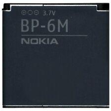Nokia Batteria originale BP-6M per 3250 6151 6233 6234 6280 6288 Pila Nuova Bulk
