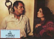 SEXY CORINNE CLERY LUCIO FULCI IL MIELE DEL DIAVOLO 1986  VINTAGE LOBBY CARD #6