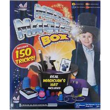 Mega Magic Box - Includes 150 Tricks - Real Magician's Hat Included!!
