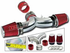 """3.5"""" RED Dual Twin Short Ram Air Intake + Filter For 94-96 Impala/Caprice V8"""