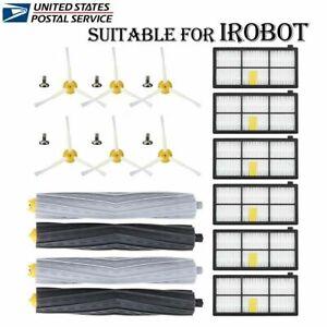For iRobot Roomba Filters 800 & 960 Series Part Kit 880 890 980 Vacuum Brush