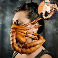 2020 New Alien Facehugger Toy Halloween Scorpion Mask Mortal Kombat Party Prop!!
