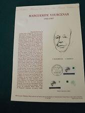Collection Historique Timbre Poste 1er Jour : 24/04/93 - MARGUERITE YOURCENAR