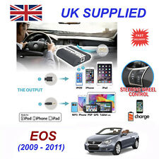 For VW EOS iPhone 5 6 7 8 SE 10 mp3 Aux Digital Audio CD Changer Module 12pin
