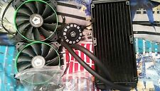 ID-COOLING 240L AIO Water Cooler + GREEN LED Lighting,240mm Radiator RARE