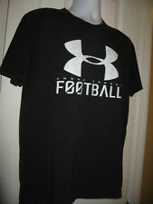 Under Armour Loose Fit Heat Gear Short Sleeve Athletic T-Shirt Black 46'' chest