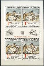 Czechoslovakia 1983, SG#2702 Art MNH Sheet #A92819