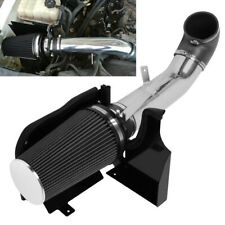 "4"" Heat Shield Cold Air Intake System+Filter Fit GMC/Chevy V8 4.8/5.3/6.0L Black"