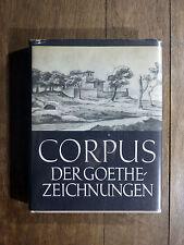 CORPUS DER GOETHEZEICHNUNGEN Band II - Italienische Reise DESSINS GOETHE ITALIE
