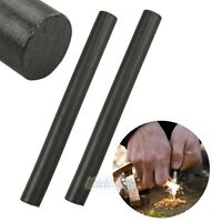 Lot 2X Huge 1/2 x 5 Ferrocerium Rod Flint Fire Starter Magnesium Outdoor Camping