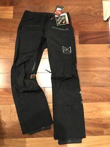 NEW Burton AK Hover Pant Gore Tex 3L Layer - Men's Small Black Recco