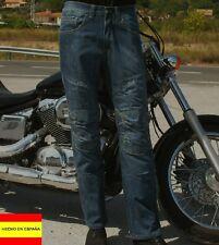 40,42,50 Vaquero Dial Jeans pantalón estilo moto con forro Aramid y protecciones