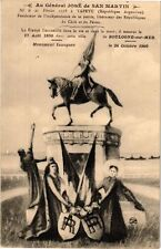 CPA Boulogne-sur-Mer-Au Général José de San Martin (267881)